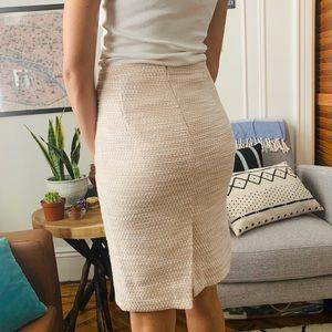 J. Crew Tweed Pencil Skirt, size 00